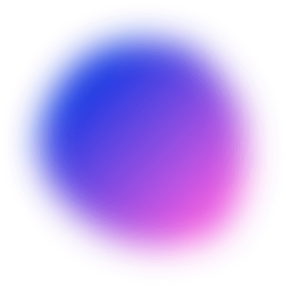 Grey and Blue circular overlay