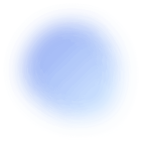 Blue and Grey circular overlay