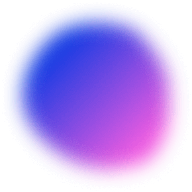 Neon Blue and Neon pink circular overlay